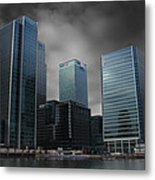 The Docklands Metal Print