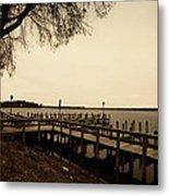 The Docks On Lake Minnetonka Metal Print