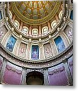 The Dome In Color Metal Print