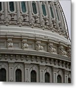 The Dome Of The Capitol Metal Print