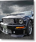 The Dominator - Cervini Mustang Metal Print