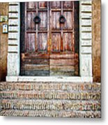 The Door At Number 5 Metal Print