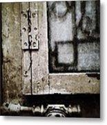 The Door Of Belcourt Metal Print