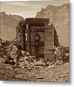 The Door Of Infinite Portals Metal Print