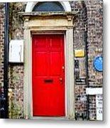 The Door To James Herriot's World Metal Print