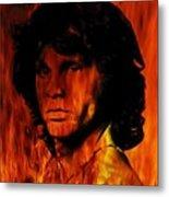The Doors Light My Fire Metal Print