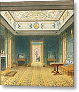 The Double Lobby Or Gallery Metal Print