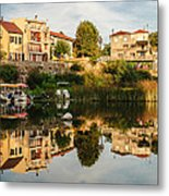 The Double World Metal Print