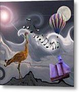 The Dream Voyage - Mad World Series Metal Print