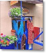 The Dress Shop - New Mexico Metal Print