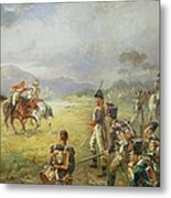 The Duel  Fair Play Metal Print by Robert Alexander Hillingford