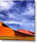 The Dunes Metal Print