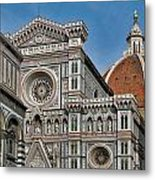 The Duomo And Baptistery Of St. John Metal Print
