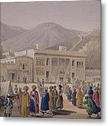 The Durbar-khaneh Of Shah Metal Print