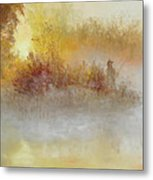 The Early Bird Metal Print by Christine Bass