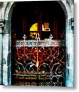 The East Door Metal Print