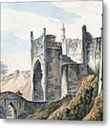 The East End Of The Fort Of Mongheer Metal Print