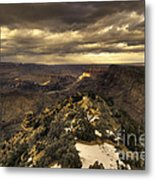 The Eastern Rim Of The Grand Canyon Metal Print
