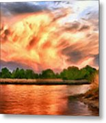 The Eastern Shore Metal Print
