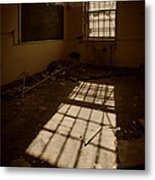 The Echo Of Emptiness Metal Print