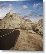 The Edge Of The Badlands Metal Print