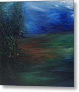 The Edge Of The Woods Metal Print