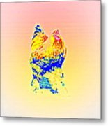 The Egg Warmer Is Flying Again  Metal Print