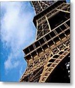 The Eiffel Tower From Below Metal Print by Nila Newsom