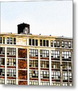 The Electric Factory Metal Print