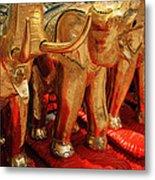 The Elephant Shrine Metal Print