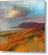 The Elk Trail Metal Print