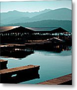 The Elkins Boathouse On Priest Lake Metal Print