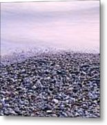 The Embrace Of The Sea Metal Print