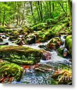 The Emerald Forest 15 Metal Print