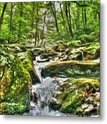 The Emerald Forest 3 Metal Print