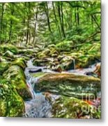 The Emerald Forest 4 Metal Print