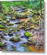 The Emerald Forest 6 Metal Print