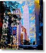 The Empire State Building Metal Print by Jon Neidert