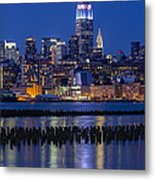 The Empire State Building Pastels Esb Metal Print