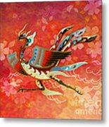 The Empress - Flight Of Phoenix - Red Version Metal Print