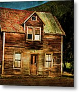 The Empty House Metal Print