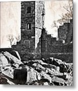 The Empty Tower Metal Print