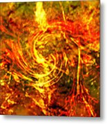 The End - 12/21/2012 - Horrific Hallucination Metal Print by J Larry Walker