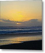 The End Of Day Metal Print