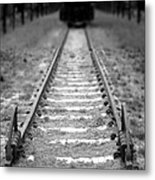 The End Of The Line Metal Print