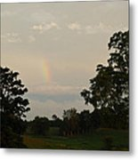 The End Of The Rainbow Metal Print