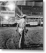 The End Of The Rodeo Metal Print