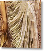 The End Of The Story Metal Print by Albert Joseph Moore