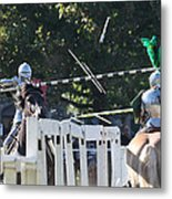 The End To The Jousting Contest  Metal Print