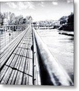 The Endless Bridge Metal Print